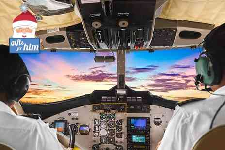 Ravenair Flight Simulation - 30 minute flying lesson - Save 25%