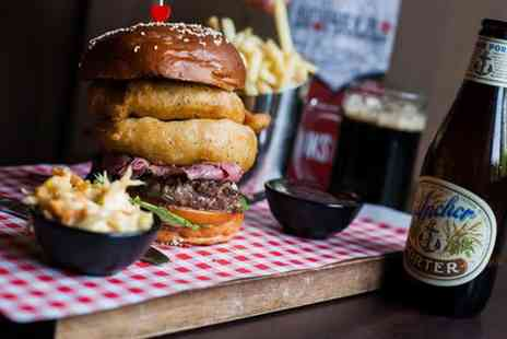 TriBeCa Bar  - Speciality Burger with Fries  - Save 54%