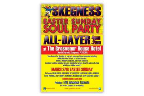 Gold Soul - Ticket to Skegness Motown Party All Dayer   for Two on 27 March  - Save 38%
