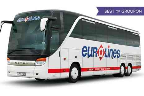 Eurolines  -  Eurolines Return Fares For One or Two - Save 0%