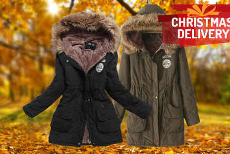 J & Y - Ladies Parka Coat  - Save 67%