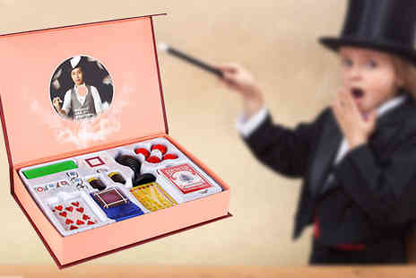 Rose River - 8 in 1 Magic Trick Set with DVD - Save 40%