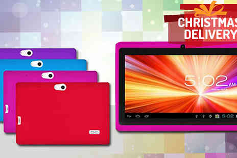 tecwizz - 7 Inch Childrens Android Tablet with Shockproof Case - Save 81%