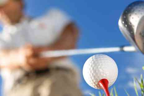 Adrienne Golf - Four Hour Golf Lesson and Lunch for One - Save 0%