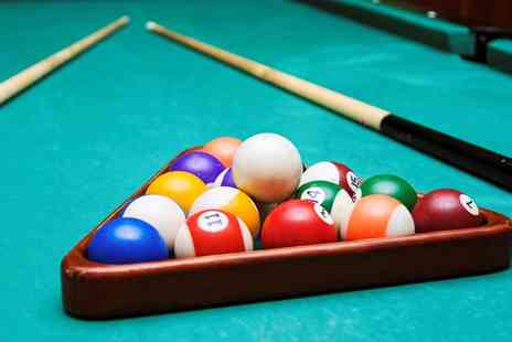 Pockets Pool and Snooker Hall - Four Hours of Pool Plus Burger and Chips For Two   - Save 45%