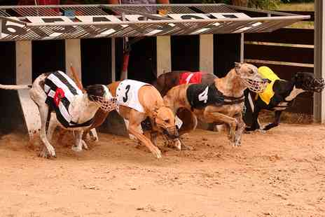 Doncaster Greyhound Stadium   -  Night at The Races with Food and Drink for Up to Six  - Save 66%