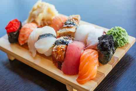 The Big Wok - All You Can Eat Sushi with Teppanyaki and Chinese Buffet for One - Save 46%