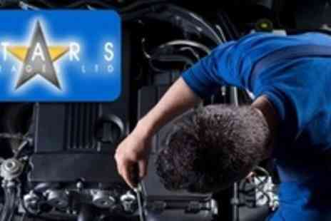 Stars Garage - Vehicle Oil and Filter Change With 80 Point Check - Save 61%
