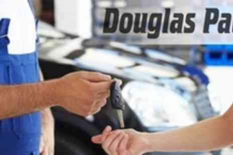 Douglas Paul Motor Group - 66 Point Car Service With Pick-Up and Delivery Plus Oil and Filter Change - Save 78%
