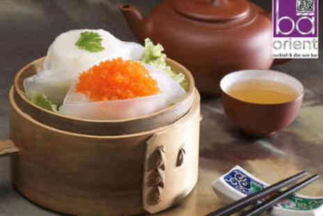 BA Orient - Dim Sum Plus Bellini - Save 54%