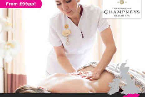 Champneys Tring - Overnight Stay in a Standard Room for One with Two Treatments Included  - Save 0%