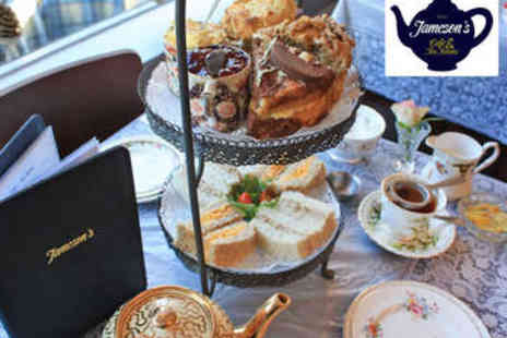 Jamesons Cafe - Afternoon Tea for Two - Save 54%
