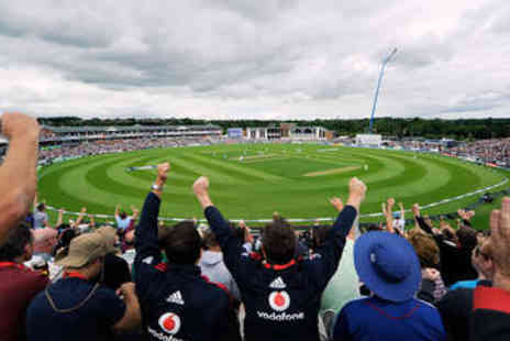 Durham County Cricket Club - Hospitality Cricket Package for  England vs Sri Lanka Match - Save 58%