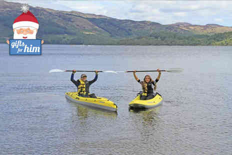 Loch Lomond Leisure - Paddleboard or kayak experience for one - Save 0%