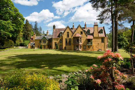 Leithen Lodge - Overnight country estate break for two including afternoon tea and a spa treatment each - Save 0%