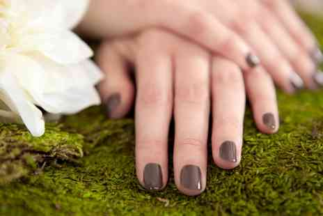 The Pamper Lounge - Shellac Manicure or Pedicure