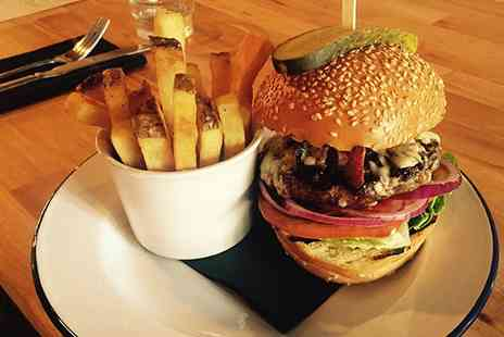 Craft Kitchen - Burger, Pint and Chips for One - Save 0%