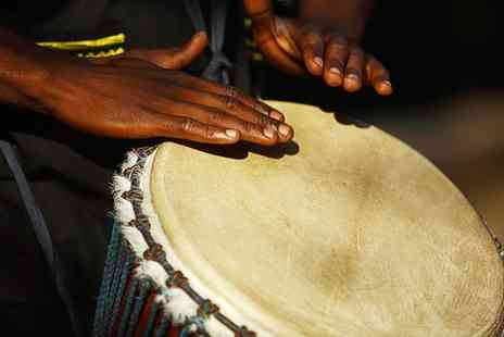 London African Drumming - One Hour African Drumming Classes - Save 55%