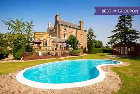 Peterstone Court - One or Two Nights stay For Two With Breakfast, Wine and Spa Access   - Save 35%