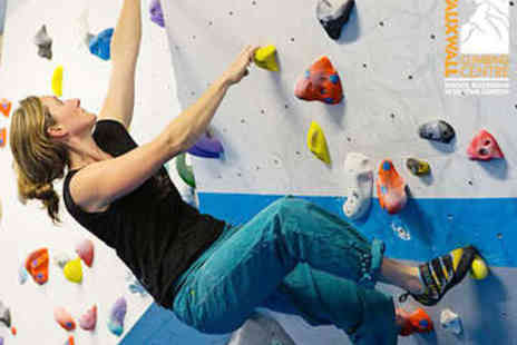 VauxWall Climbing Centre - Bouldering Induction and Day Pass - Save 52%
