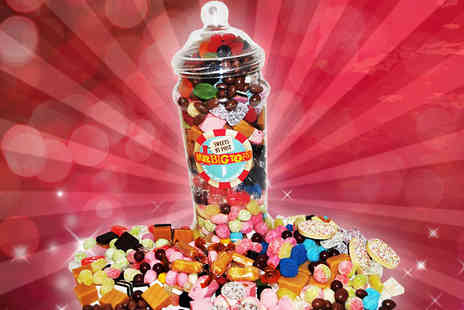 Mrbigtops - 2kg Giant Retro Sweet Jar - Save 63%