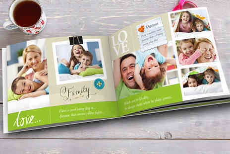 "Harrier LLC - Soft cover personalised 7"" x 5"" photobook - Save 85%"