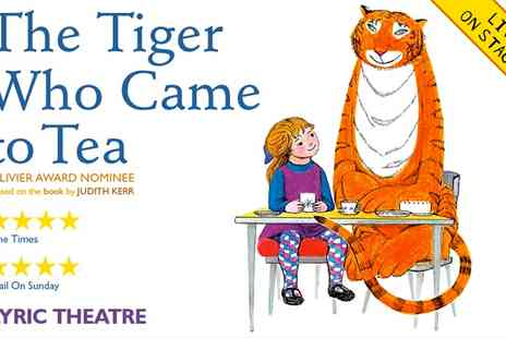 Ingresso - The Tiger Who Came To Tea  - Save 0%