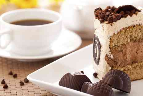 Coffee Corner - Slice of Cake and a Hot Drink For Up to Four  - Save 0%
