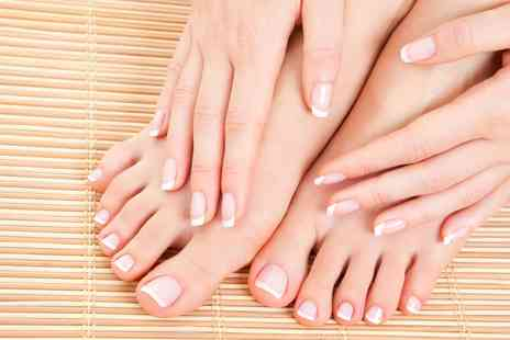 Divas Beauty Salon - Manicure or Pedicure or Both  - Save 61%