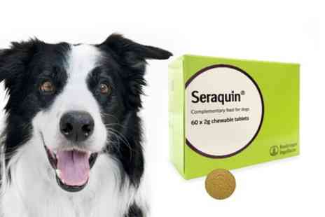 VetePet - 60 x 2g  Seraquin Tablets For Dogs With Free Delivery - Save 0%