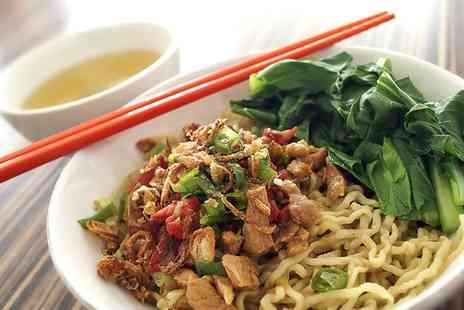 Chop Chop Noodle & Salad Bar - Two Course Asian Meal for One - Save 41%