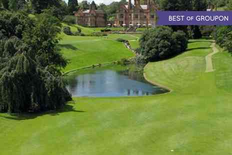 Hallmark Welcombe Hotel  - Round of Golf with a Bacon Roll for Two  - Save 52%