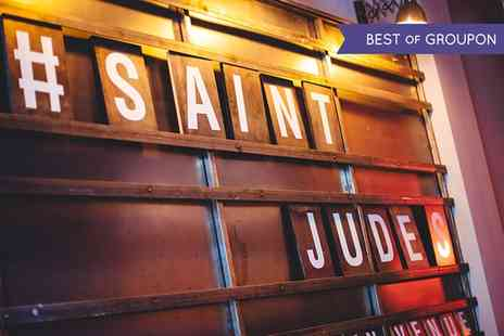 Saint Judes - Winter Warming Meal With Mulled Wine For Two  - Save 53%