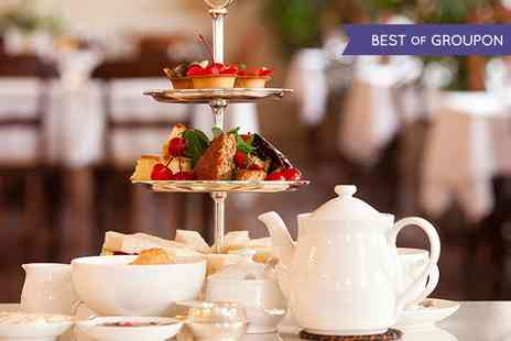 Scalford Hall Hotel - Traditional or Champagne Afternoon Tea For Two  - Save 57%