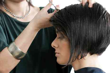 Hair at Number One - Cut and Blow Dry  With Colour or Highlights - Save 43%