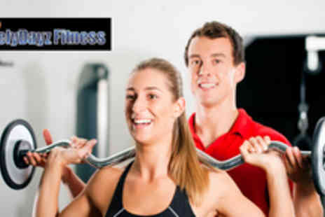 Livelydayz Fitness - Two 1 hour personal training sessions plus a 2 day gym pass - Save 84%