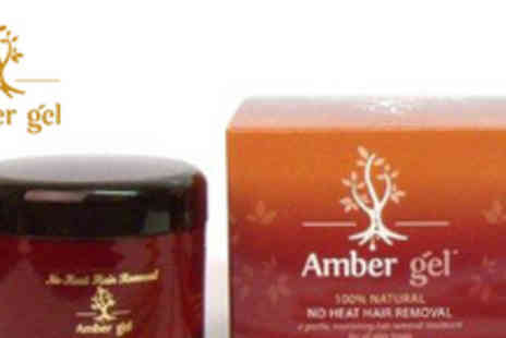 Amber Gel - 100ml natural, no heat, hair removal treatment - Save 67%