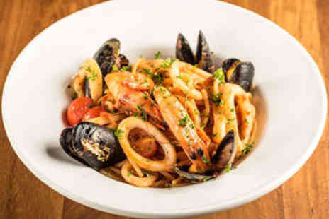 Edendum - Two Course Italian Meal for Two with Wine - Save 49%