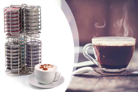 Neodirect - Chrome Holder for Tassimo Coffee Pods - Save 71%