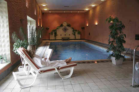 The Manor House Hotel - Full spa day with two treatments and a two course lunch -  - Save 57%