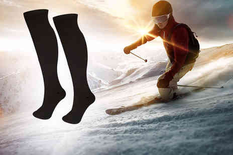 1st Light - Pack of thermal ski socks - Save 0%