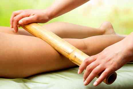 Butterfly Beauty - One Hour Full Body Warm Bamboo or Hot Stone Massage  - Save 64%