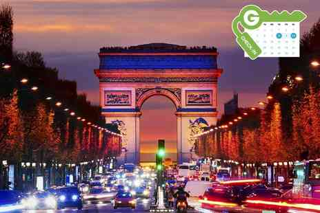 Hotel Paris - Stay for Two With Breakfast  - Save 0%