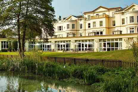 The Cheltenham Park Hotel - One night in Cotswolds Stay For one With Dinner, Wine, Spa Treatment, Leisure Access and Late Check Out  - Save 0%