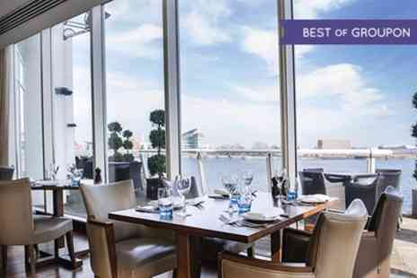 Tempus at Tides Bar and Restaurant - Two Course Dinner with Fizz for Two  - Save 50%