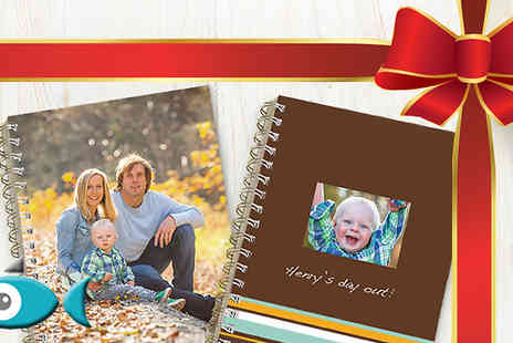 Snapfish - £2 Personalised Photo Notebook - Save 67%