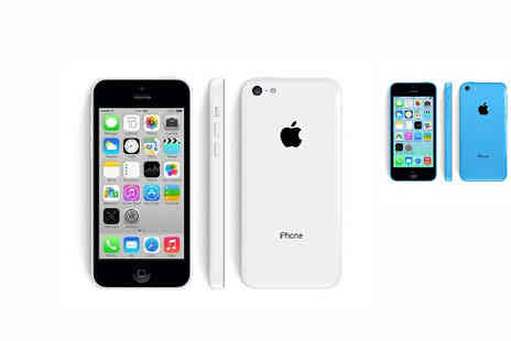 Loco Gadgets - iPhone 5c 16GB in White or Blue - Save 39%