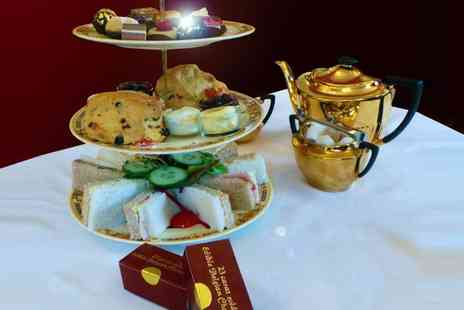 Healey Dell Heritage Centre  - Afternoon Tea with Edible 23 Carat Gold for Two   - Save 52%