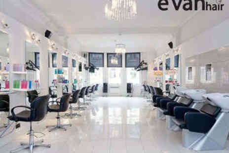 Evan Hair - Haircut, Blow Dry, and Conditioning Treatment - Save 63%