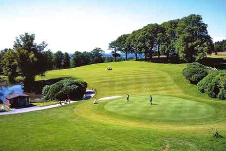 Shrigley Hall - 18 Holes of Golf and Bacon Rolls for Two - Save 53%